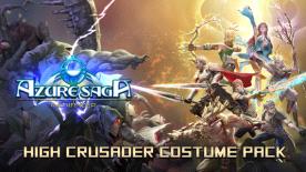 Azure Saga: Pathfinder - High Crusader Costume Pack