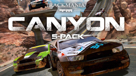 TrackMania Canyon 5-Player Pack