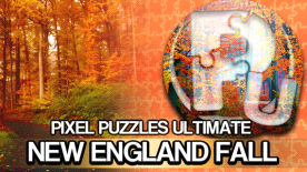 Pixel Puzzle Ultimate- Puzzle Pack: New England Fall