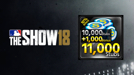 MLB® The Show™ 18 Stubs (11,000)