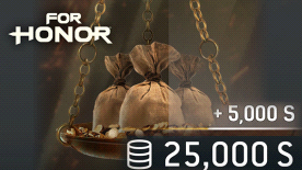 FOR HONOR 25000 STEEL Credits Pack