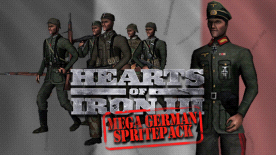 Hearts of Iron III - Mega German Sprite Pack