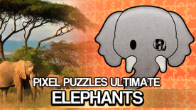 Pixel Puzzles Ultimate - Puzzle Pack: Elephants