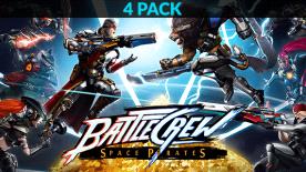 BATTLECREW Space Pirates - 4 Pack