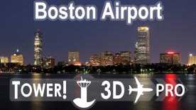 Boston Logan: Tower!3D Pro 2017 pc game Img-2
