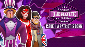 Supreme League of Patriots: Issue 1 - A Patriot Is Born
