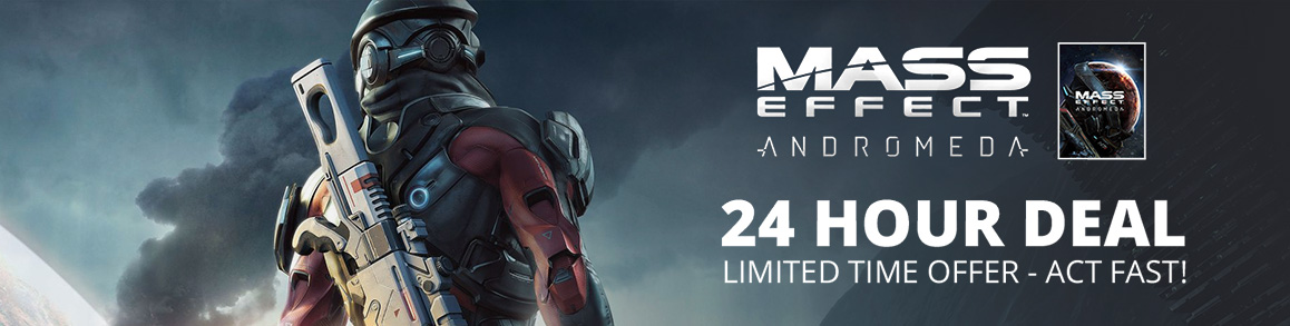 24 Hour Deal on Mass Effect Andromeda