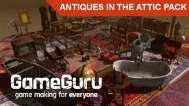 GameGuru - Antiques In The Attic Pack
