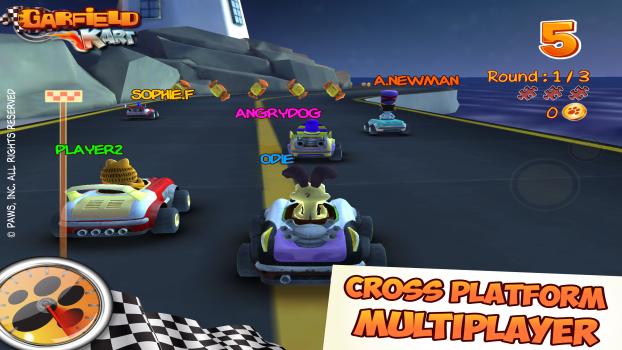 Garfield Kart Pc Steam Game Keys