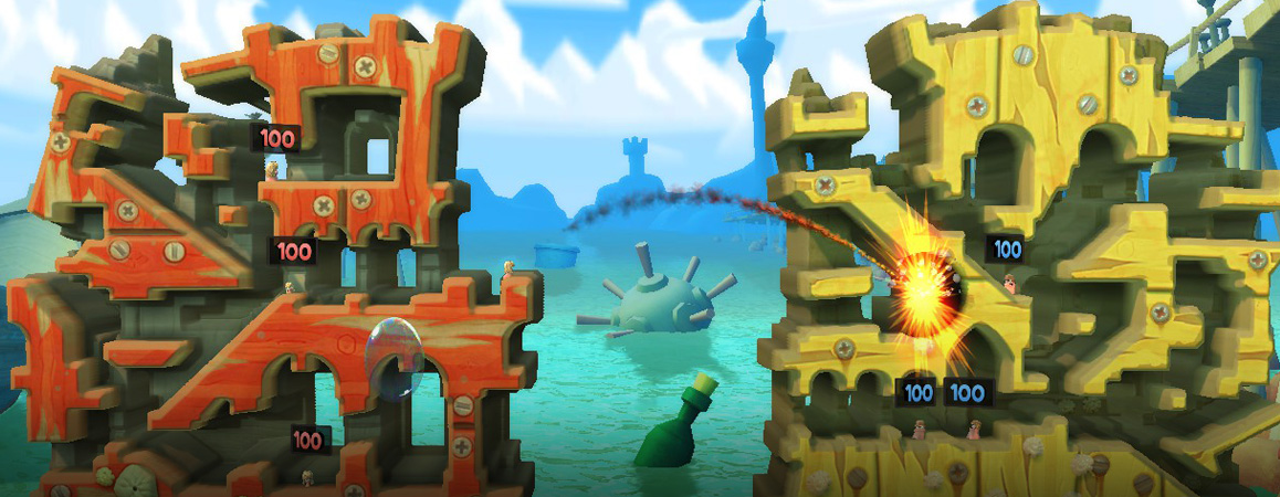 worms revolution free online game
