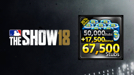 MLB® The Show™ 18 Stubs (67,500)