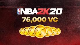 NBA 2K20: 75000 VC Pack