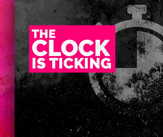 Black Friday Clocks Ticking
