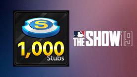 MLB THE SHOW 19 STUBS (1000)