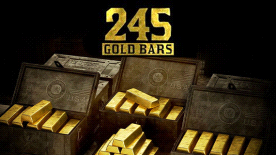 Red Dead Online: 245 Gold Bars