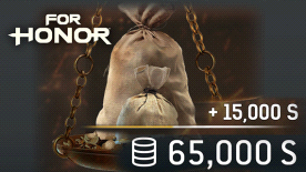 FOR HONOR 65000 STEEL Credits Pack