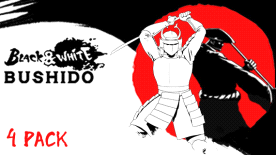 Black & White Bushido 4 Pack