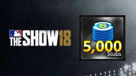 MLB® The Show™ 18 Stubs (5,000)