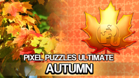 Pixel Puzzles Ultimate - Autumn Puzzle Pack