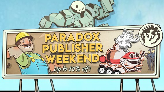 Paradox Publisher Promotion