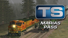 Train Simulator: Marias Pass route add-on