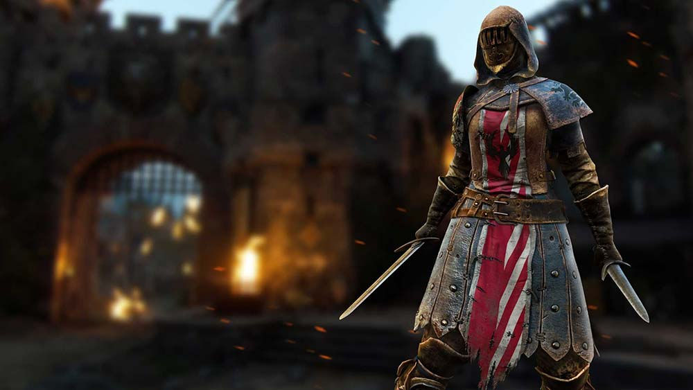For Honor - A Peacekeeper holding two daggers