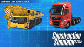 Construction Simulator 2015: Liebherr® LTM 1300 6.2 DLC