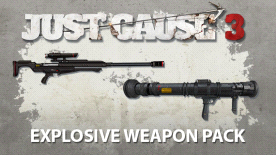 Just Cause™ 3: Explosive Weapon Pack