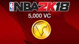 NBA 2K18: 5000 VC