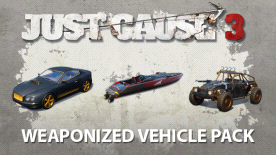 Just Cause™ 3: Weaponized Vehicle Pack