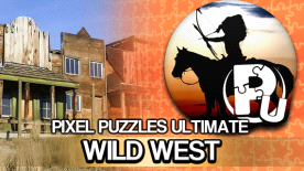Pixel Puzzles Ultimate - Puzzle Pack: Wild West