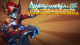 Awesomenauts: Cosmic Captain Ksenia Skin