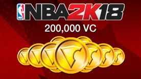 NBA 2K18: 200000 VC