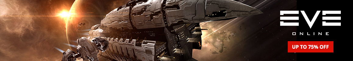 Eve Online Flat-Page Header