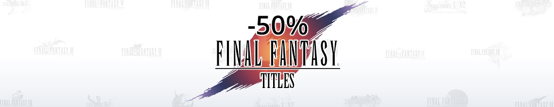 15% off selected Final Fantasy titles.