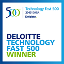Deloitte Technology Fast 500 2015 EMEA Winner