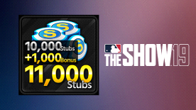 MLB THE SHOW 19 STUBS (11000)