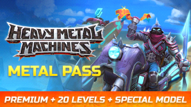 HMM Metal Pass Premium Season 5 + 20 Levels + Special Skin Model