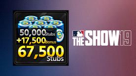 MLB THE SHOW 19 STUBS (67500)