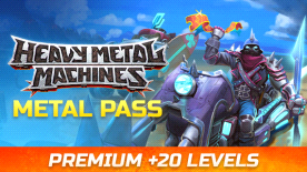 HMM Metal Pass Premium Season 5 + 20 Levels