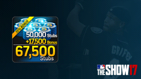 MLB® The Show™ 17 Stubs (67,500)