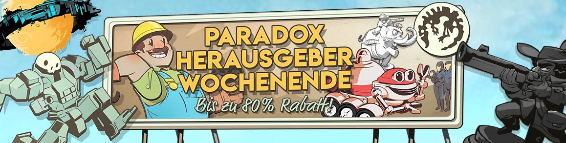 Paradox-Spiele im Angebot