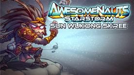 Awesomenauts: Sun Wukong Skree Skin