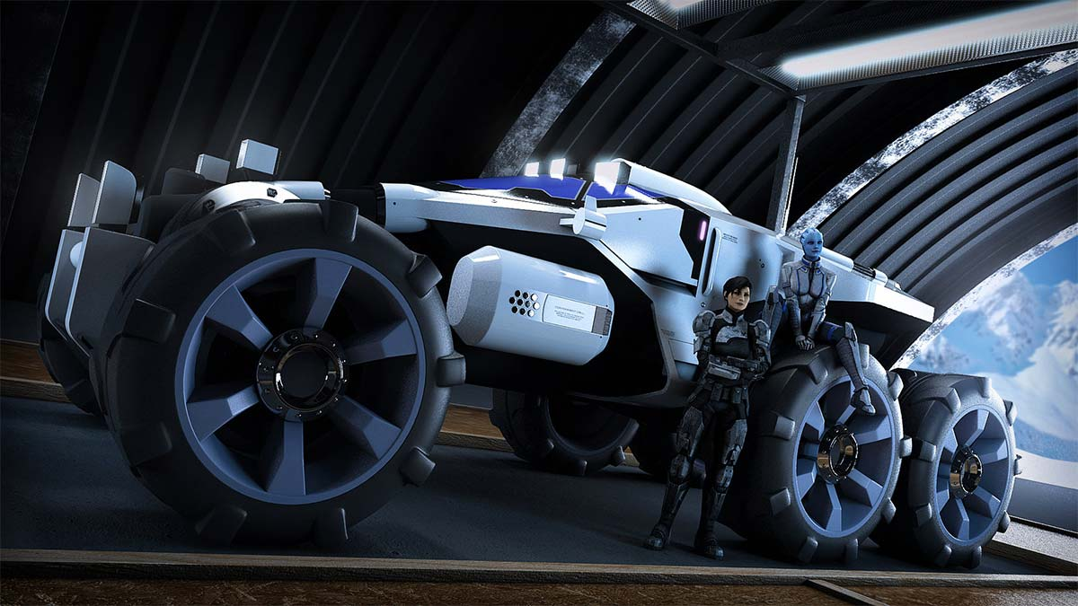 Mass Effect The Nomad Vehicle