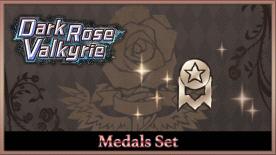 Dark Rose Valkyrie - Medals Set