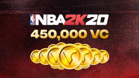 NBA 2K20: 450000 VC Pack