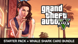 Grand Theft Auto V and Criminal Enterprise Starter Pack and Whale Shark  Card Bundle