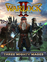 Warlock 2: The Exiled - Three Mighty Mages