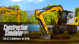 Construction Simulator 2015: Liebherr A 918