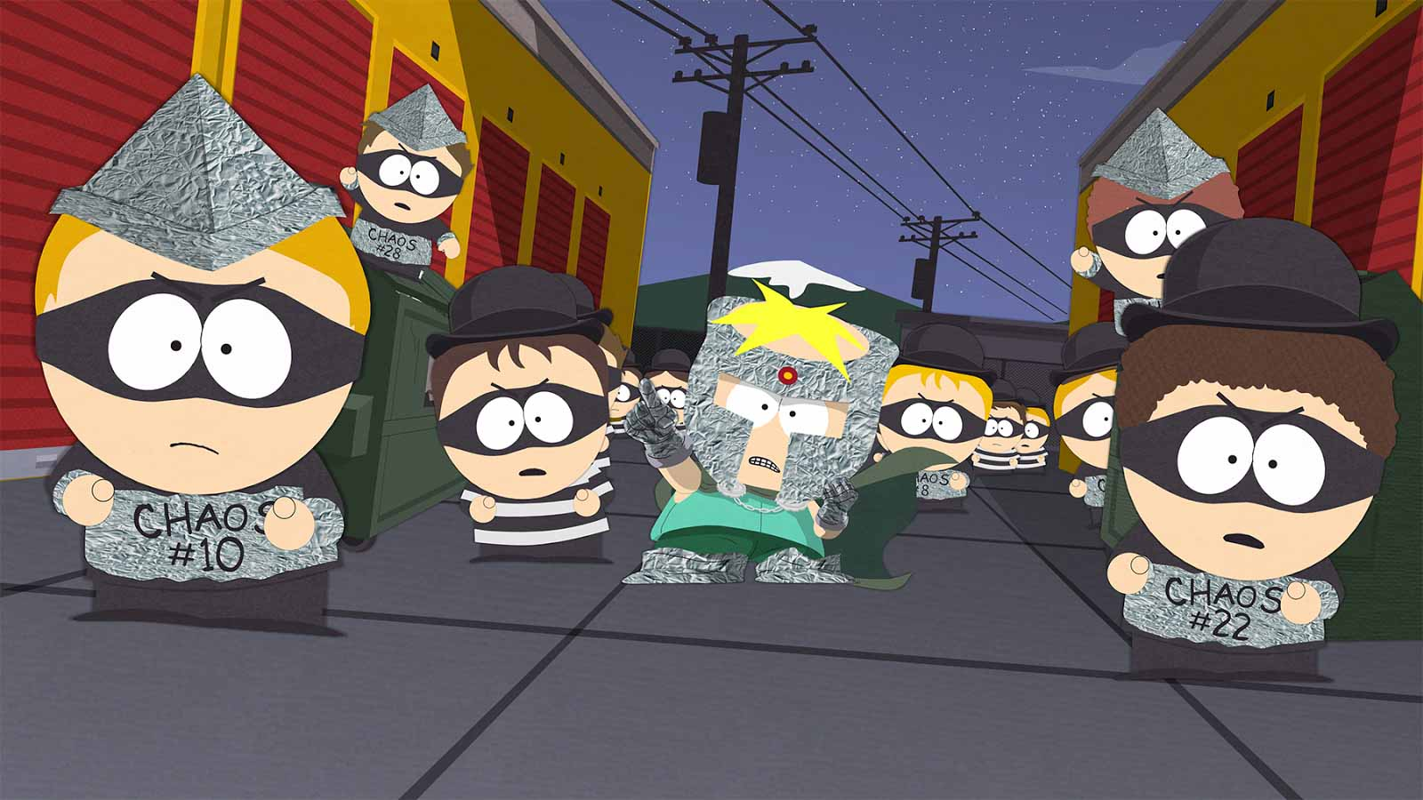 South Park The Fractured But Whole - Professor Chaos' Army